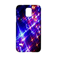 Star Light Space Planet Rainbow Sky Blue Red Purple Samsung Galaxy S5 Hardshell Case  by Jojostore