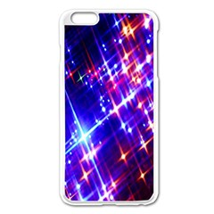 Star Light Space Planet Rainbow Sky Blue Red Purple Apple Iphone 6 Plus/6s Plus Enamel White Case by Jojostore