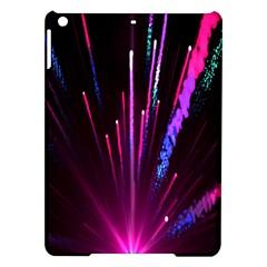 Happy New Year City Semmes Fireworks Rainbow Red Blue Purple Sky Ipad Air Hardshell Cases by Jojostore