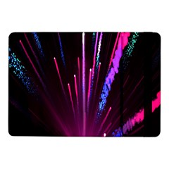 Happy New Year City Semmes Fireworks Rainbow Red Blue Purple Sky Samsung Galaxy Tab Pro 10 1  Flip Case by Jojostore