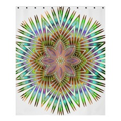 Star Flower Glass Sexy Chromatic Symmetric Shower Curtain 60  X 72  (medium)  by Jojostore