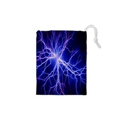 Blue Sky Light Space Drawstring Pouches (xs)  by Mariart