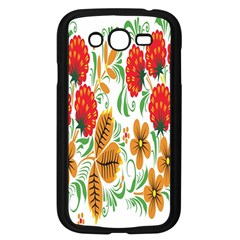 Flower Floral Red Yellow Leaf Green Sexy Summer Samsung Galaxy Grand Duos I9082 Case (black) by Mariart