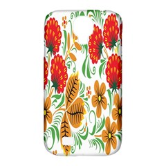Flower Floral Red Yellow Leaf Green Sexy Summer Samsung Galaxy S4 Classic Hardshell Case (pc+silicone) by Mariart