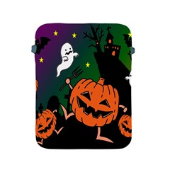 Happy Halloween Apple Ipad 2/3/4 Protective Soft Cases by Mariart
