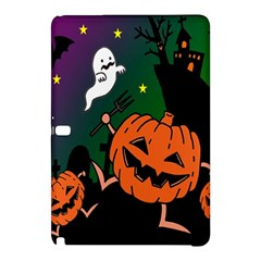 Happy Halloween Samsung Galaxy Tab Pro 12 2 Hardshell Case by Mariart