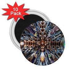 Iron Glass Space Light 2 25  Magnets (10 Pack)  by Mariart