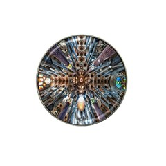 Iron Glass Space Light Hat Clip Ball Marker (4 Pack) by Mariart