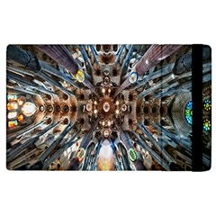 Iron Glass Space Light Apple Ipad 2 Flip Case by Mariart