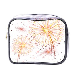 Fireworks Triangle Star Space Line Mini Toiletries Bags by Mariart