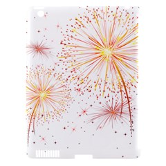 Fireworks Triangle Star Space Line Apple Ipad 3/4 Hardshell Case (compatible With Smart Cover) by Mariart