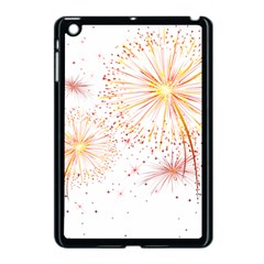Fireworks Triangle Star Space Line Apple Ipad Mini Case (black) by Mariart