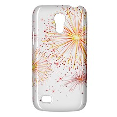 Fireworks Triangle Star Space Line Galaxy S4 Mini by Mariart