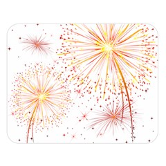 Fireworks Triangle Star Space Line Double Sided Flano Blanket (large)  by Mariart
