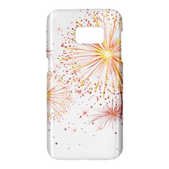 Fireworks Triangle Star Space Line Samsung Galaxy S7 Hardshell Case