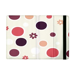 Polka Dots Flower Floral Rainbow Ipad Mini 2 Flip Cases by Mariart