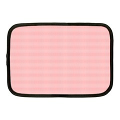 Red Polka Dots Line Spot Netbook Case (medium)  by Mariart