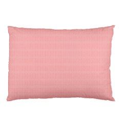 Red Polka Dots Line Spot Pillow Case by Mariart