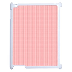 Red Polka Dots Line Spot Apple Ipad 2 Case (white) by Mariart