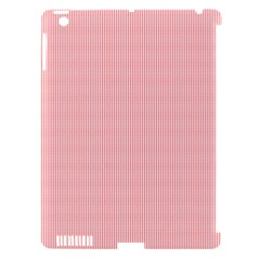 Red Polka Dots Line Spot Apple Ipad 3/4 Hardshell Case (compatible With Smart Cover) by Mariart