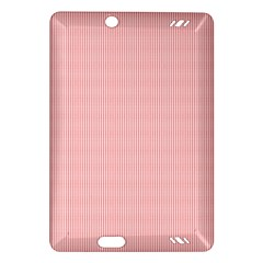 Red Polka Dots Line Spot Amazon Kindle Fire Hd (2013) Hardshell Case by Mariart