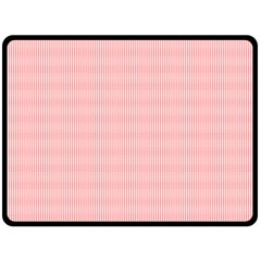 Red Polka Dots Line Spot Double Sided Fleece Blanket (large)  by Mariart
