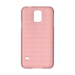 Red Polka Dots Line Spot Samsung Galaxy S5 Hardshell Case  by Mariart