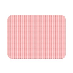 Red Polka Dots Line Spot Double Sided Flano Blanket (mini)  by Mariart