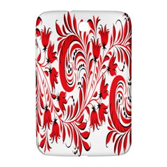 Red Flower Floral Leaf Samsung Galaxy Note 8 0 N5100 Hardshell Case  by Mariart