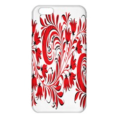 Red Flower Floral Leaf Iphone 6 Plus/6s Plus Tpu Case by Mariart