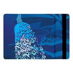 Peacock Bird Blue Animals Apple Ipad Pro 10 5   Flip Case by Mariart