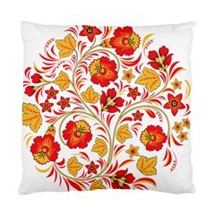 Wreaths Flower Floral Sexy Red Sunflower Star Rose Standard Cushion Case (one Side) by Mariart