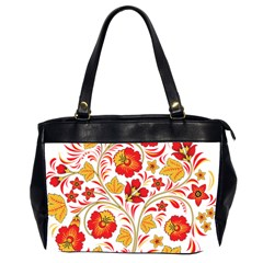 Wreaths Flower Floral Sexy Red Sunflower Star Rose Office Handbags (2 Sides)  by Mariart