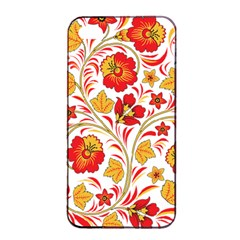 Wreaths Flower Floral Sexy Red Sunflower Star Rose Apple Iphone 4/4s Seamless Case (black) by Mariart