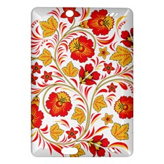 Wreaths Flower Floral Sexy Red Sunflower Star Rose Amazon Kindle Fire Hd (2013) Hardshell Case by Mariart