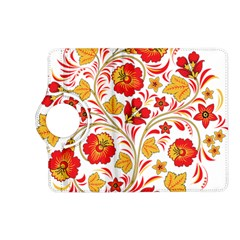 Wreaths Flower Floral Sexy Red Sunflower Star Rose Kindle Fire Hd (2013) Flip 360 Case by Mariart