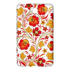 Wreaths Flower Floral Sexy Red Sunflower Star Rose Samsung Galaxy Tab 4 (8 ) Hardshell Case  by Mariart