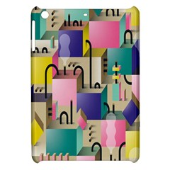 Magazine Balance Plaid Rainbow Apple Ipad Mini Hardshell Case by Mariart