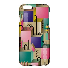 Magazine Balance Plaid Rainbow Apple Iphone 6 Plus/6s Plus Hardshell Case by Mariart
