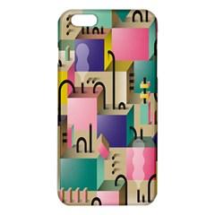 Magazine Balance Plaid Rainbow Iphone 6 Plus/6s Plus Tpu Case by Mariart