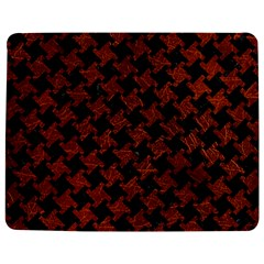 Houndstooth2 Black Marble & Reddish Brown Leather Jigsaw Puzzle Photo Stand (rectangular) by trendistuff