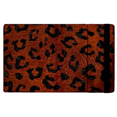 Skin5 Black Marble & Reddish Brown Leather (r) Apple Ipad 2 Flip Case by trendistuff