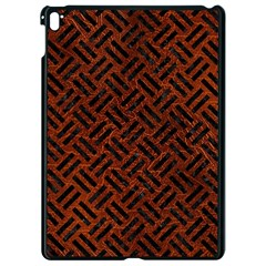 Woven2 Black Marble & Reddish Brown Leather Apple Ipad Pro 9 7   Black Seamless Case by trendistuff
