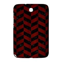 Chevron1 Black Marble & Reddish Brown Wood Samsung Galaxy Note 8 0 N5100 Hardshell Case  by trendistuff