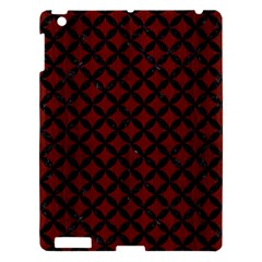 Circles3 Black Marble & Reddish Brown Wood Apple Ipad 3/4 Hardshell Case by trendistuff