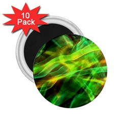 Abstract Shiny Night Lights 1 2 25  Magnets (10 Pack)  by tarastyle