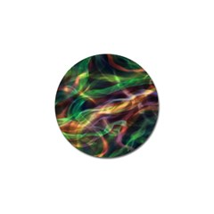 Abstract Shiny Night Lights 3 Golf Ball Marker by tarastyle