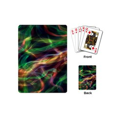 Abstract Shiny Night Lights 3 Playing Cards (mini)  by tarastyle