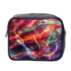 Abstract Shiny Night Lights 4 Mini Toiletries Bag 2 Side by tarastyle