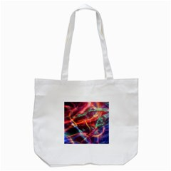 Abstract Shiny Night Lights 4 Tote Bag (white) by tarastyle